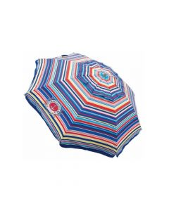 Sombrilla de playa con proteccion UV Multi stripe