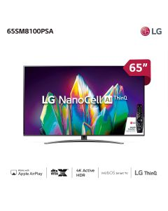 "Nanocell Smart TV LG 65"" 4K 65SM8100PSA"