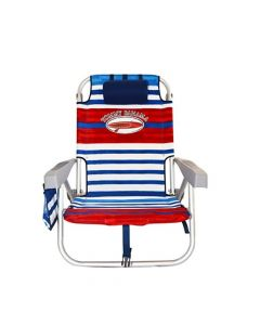 Silla de playa Tommy Bahamas Red/White/Blue