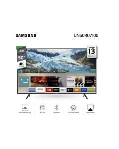 "Smart TV Samsung 50"" LED 4K UN50RU7100"