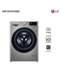 Lavasecarropas frontal LG WD10VVC4S6C 10.5 Kg