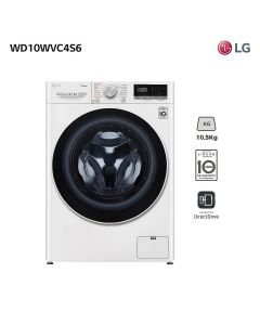 Lavasecarropas frontal LG WD10WVC4S6 10,5 Kg